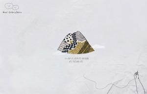 基礎刺繡 - 小夢山創作課,直覺繪畫,針法靈活創作